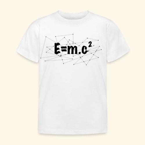 e=m.c^2 - T-shirt Enfant