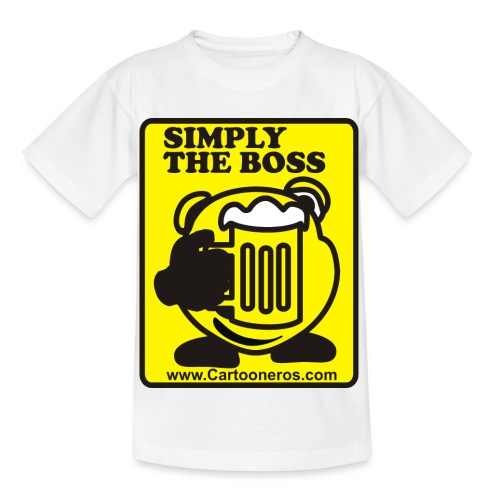Simply the Boss - Kids' T-Shirt