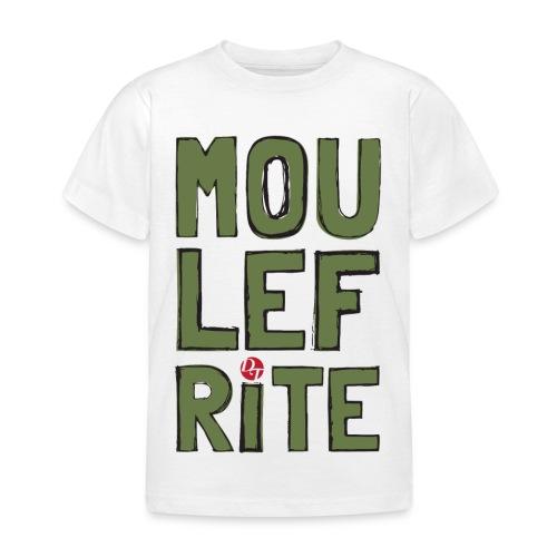 dt moulefrite folk sketchsolid towertee - T-shirt Enfant