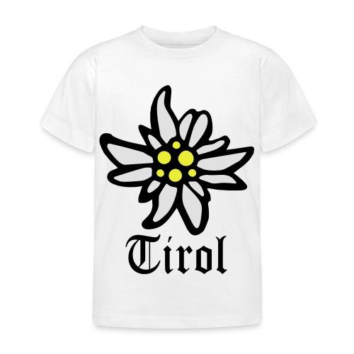 Tirol Edelweiss - Kinder T-Shirt