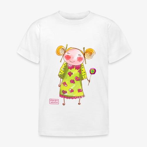 fille happy - T-shirt Enfant