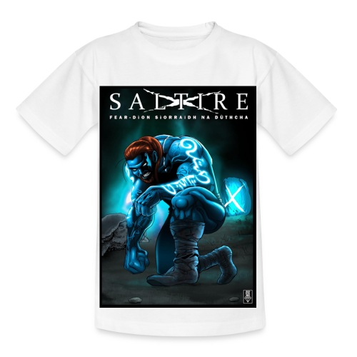Saltire Invasion Gaelic - Kids' T-Shirt