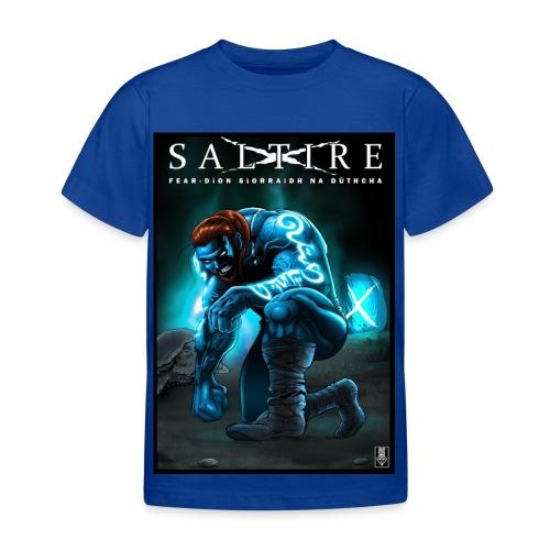 Saltire Invasion Gaelic - Kids' T-Shirt