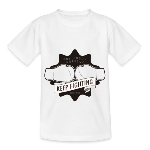 Fitness Sport Box Keep Fighting Calisthenics Body - Kids' T-Shirt