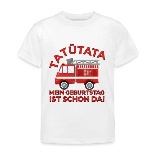 Straż pożarna Tatütata Dzieci Prezent Urodzinowy - Koszulka dziecięca