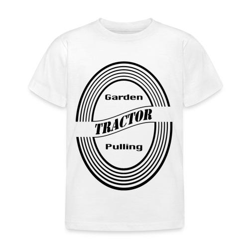 børn Garden tractor pulling - Børne-T-shirt