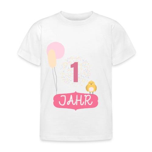 1 Jahr. Das Geburtstag T-Shirt zum 1. Geburtstag. - Kinder T-Shirt
