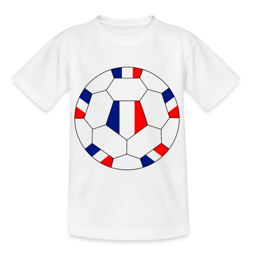 Frankreich Fußball - Kinder T-Shirt