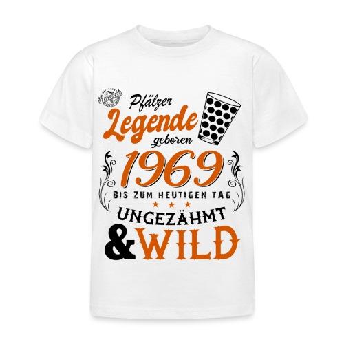 Pfälzer Legende 1969 50. Geburtstag - Kinder T-Shirt