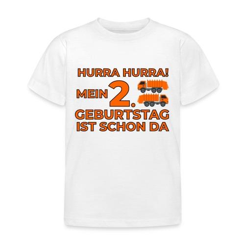 Drugie urodziny Śmieciarka - Koszulka dziecięca