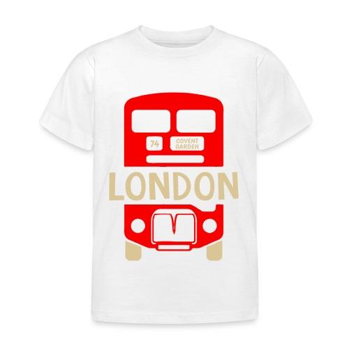 London Bus Roter Doppeldecker London Fan Souvenir - Kinder T-Shirt