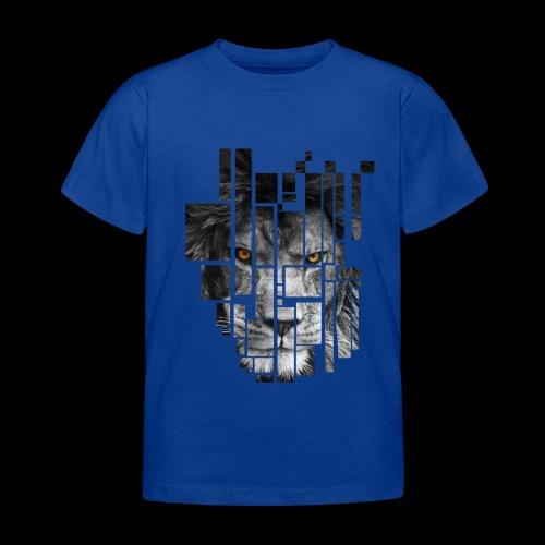 Pixel Lion Tattoo Inspire - Kids' T-Shirt