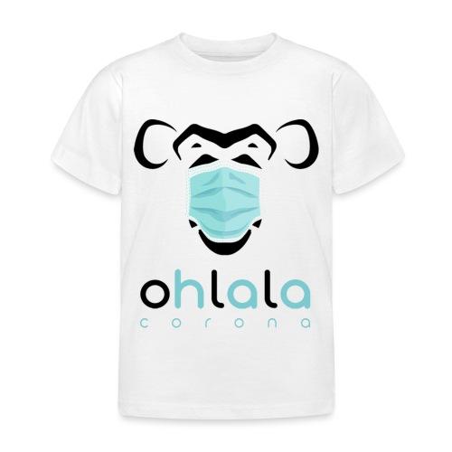 OHLALA CORONA WHITE - T-shirt Enfant