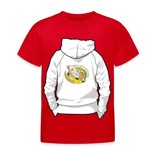hoodyback - Kinderen T-shirt