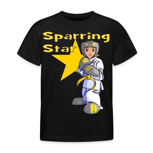 tkdkidyellow2 png - Kids' T-Shirt
