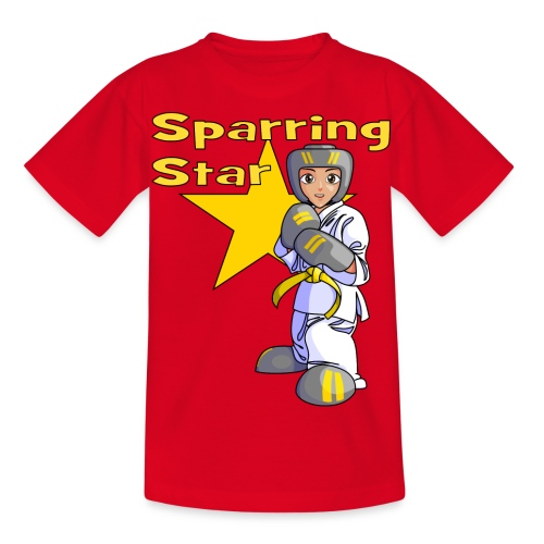 tkdkidyellow2 png - Kids' T-Shirt