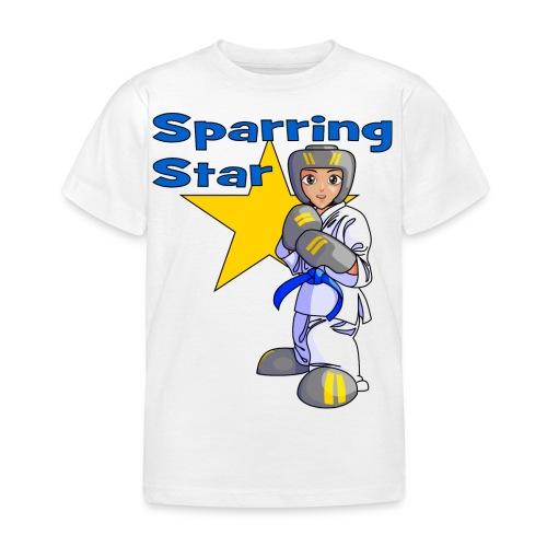 tkdkidblue2 png - Kids' T-Shirt