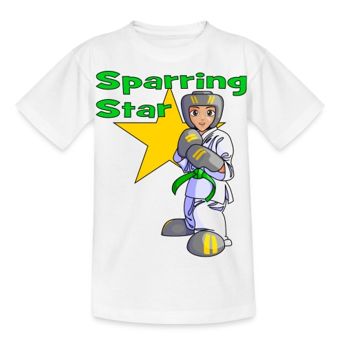 tkdkidgreen2 png - Kids' T-Shirt