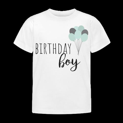 birthday boy - Kinder T-Shirt