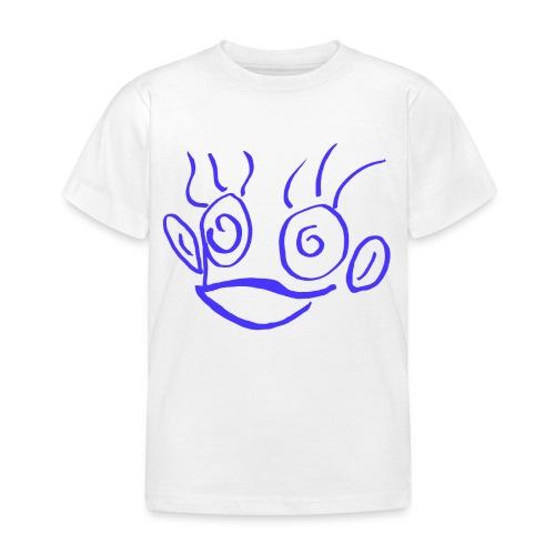 hannah monkey blue - Kids' T-Shirt