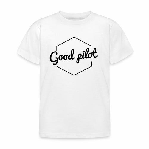 GOOD PILOT (noir) - T-shirt Enfant