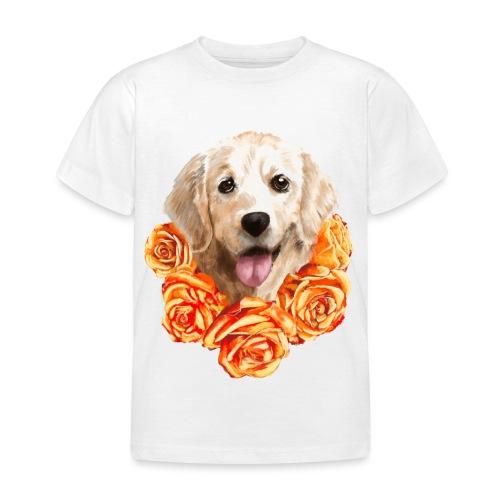 Golden retriever - Børne-T-shirt