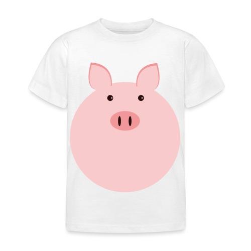 Schweinchen Fred - Kinder T-Shirt