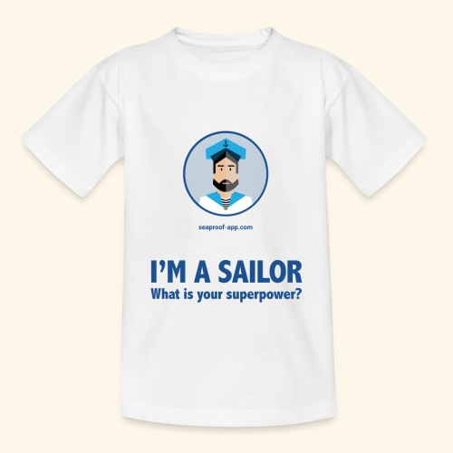 SeaProof Superpower - Kinder T-Shirt