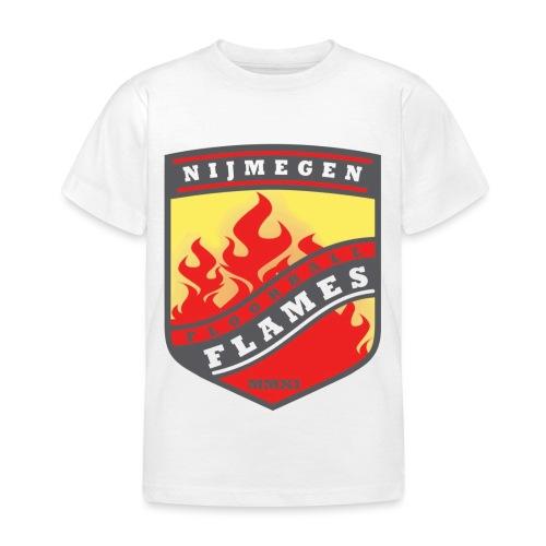 Hoodie Black - Red inner contrast - Kinderen T-shirt