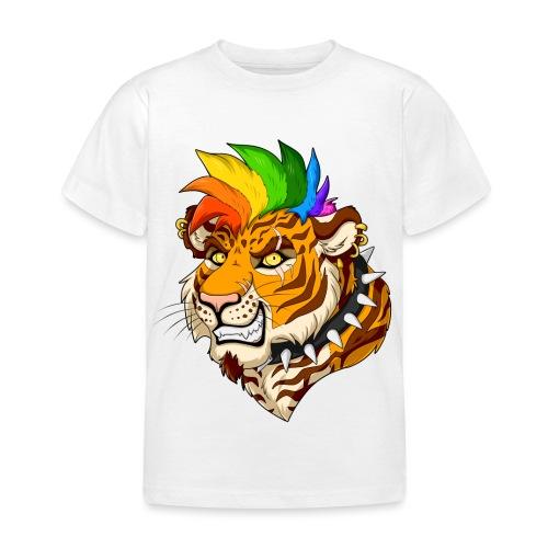 Punk Tiger - Koszulka dziecięca