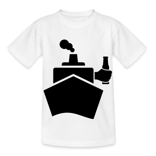 King of the boat - Kinder T-Shirt