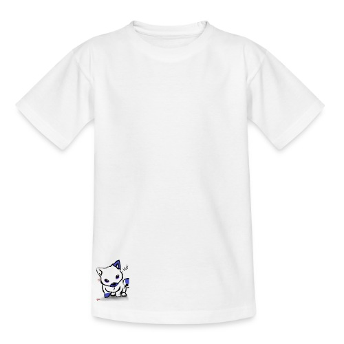 poka dot wolf - Kids' T-Shirt