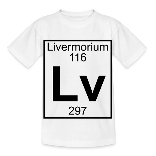 Livermorium (Lv) (element 116) - Kids' T-Shirt