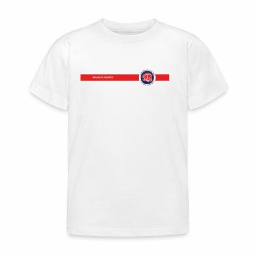 GRAINE DE POMPIER KIDS BLANC - T-shirt Enfant