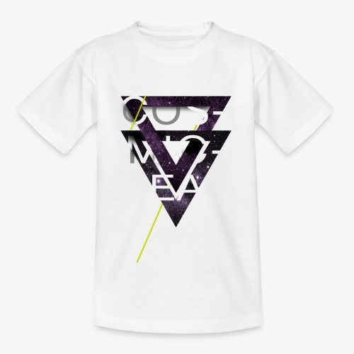 Cosmicleaf Triangles - Kids' T-Shirt