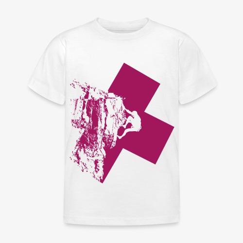 Climbing away - Kids' T-Shirt