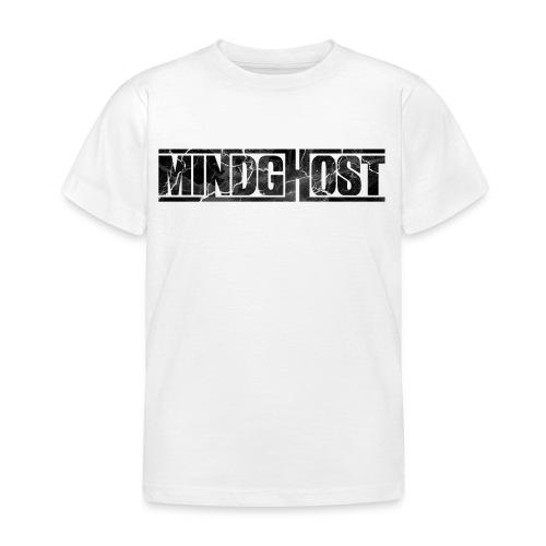 Mindghost Logo Black - T-shirt barn