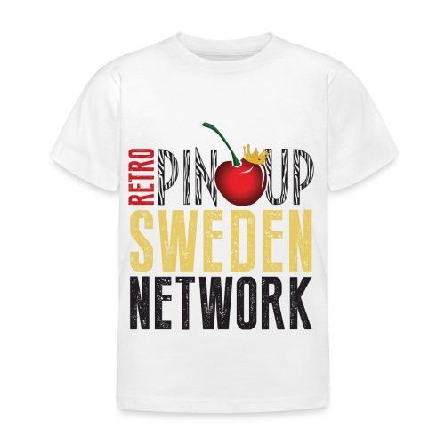 Tanktop Retro Pinup Sweden Crew utsvängd - T-shirt barn