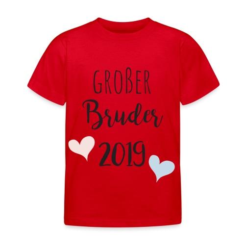 Großer Bruder 2019 - Kinder T-Shirt