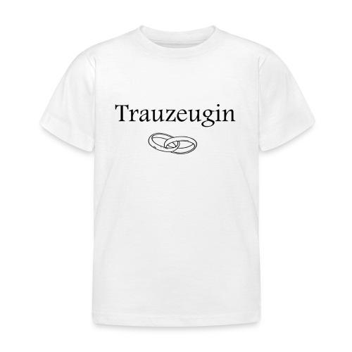 Treuzeugin - Kinder T-Shirt