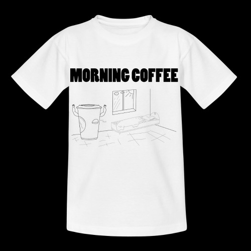 Morning Coffee - Kids' T-Shirt