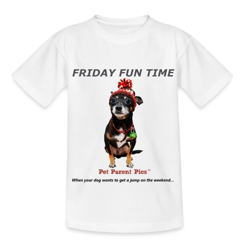Friday Fun Time - Kids' T-Shirt