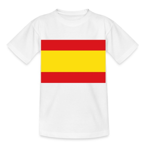 vlag van spanje - Kinderen T-shirt