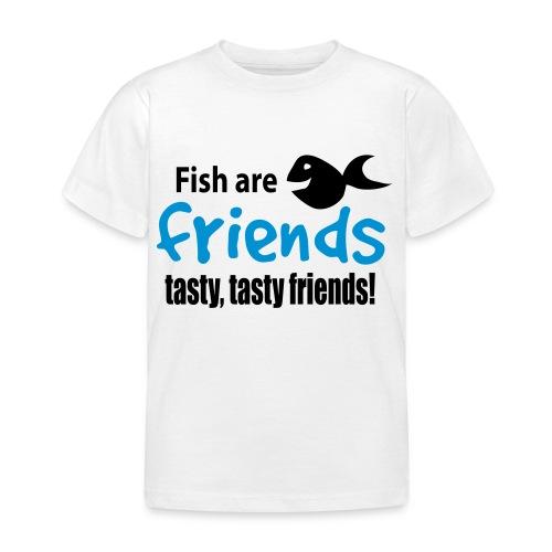 Fisk er venner - T-skjorte for barn
