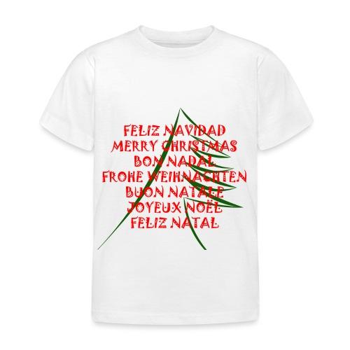 Feliz Navidad - Camiseta niño