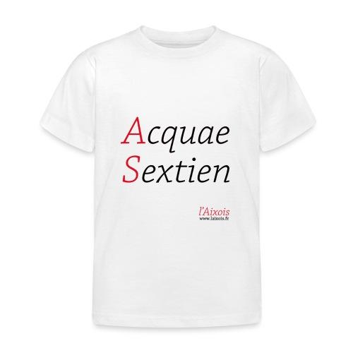 ACQUA SEXTIEN - T-shirt Enfant