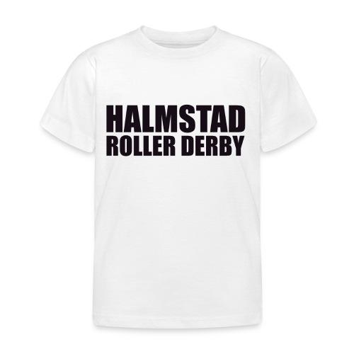 textlogga L - T-shirt barn