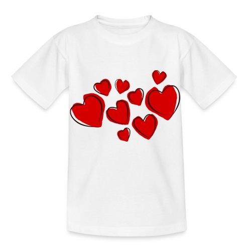 hearts herzen - Kinder T-Shirt