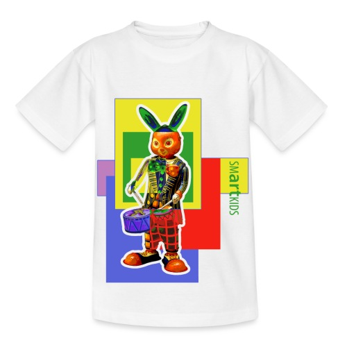 smARTkids - Slammin' Rabbit - Kids' T-Shirt