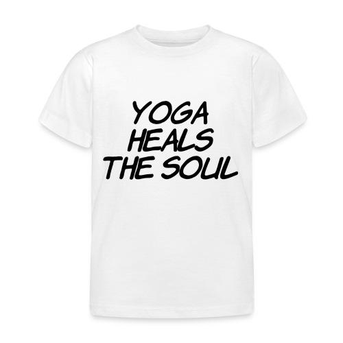 yoga - Kinderen T-shirt